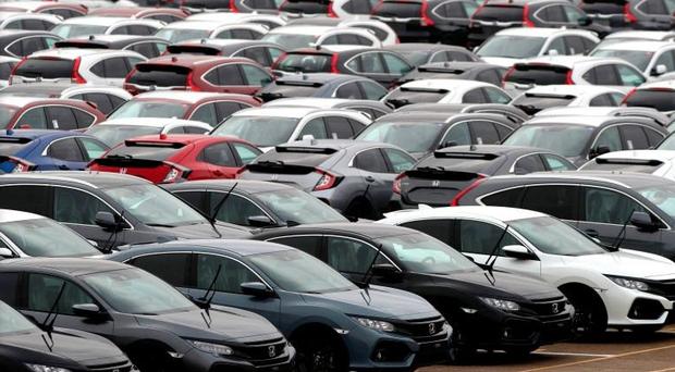 new-car sales