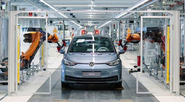 Volkswagen lines up electric ID.3 for Irish 'workshop'