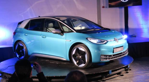 Ready for take-off: Volkswagen's electric ID.3's Irish debut