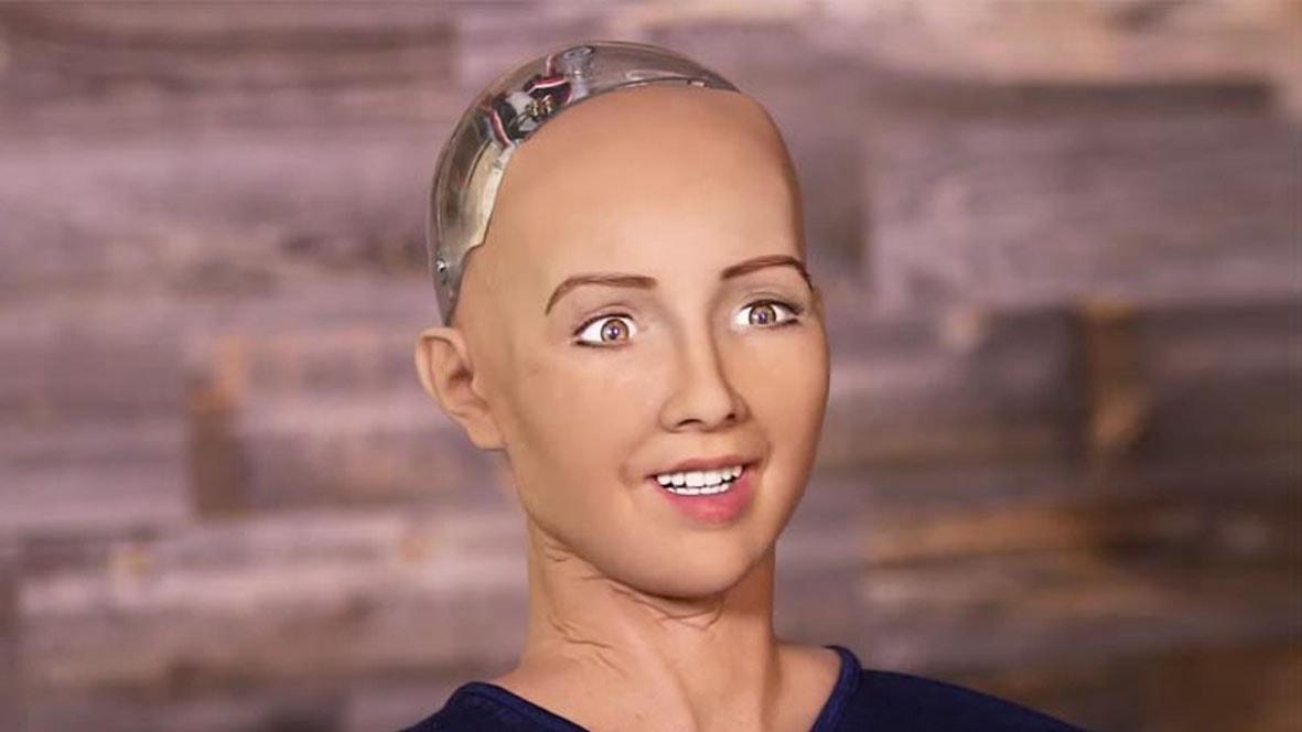 Робот София эмоции