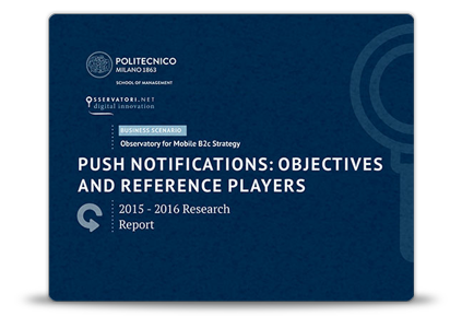 Push Benchmarking Report 2016 - Politecnico of Milan - Catapush
