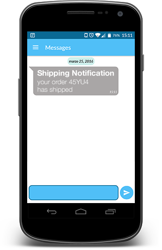 Catapush Free thirdparty push notification App