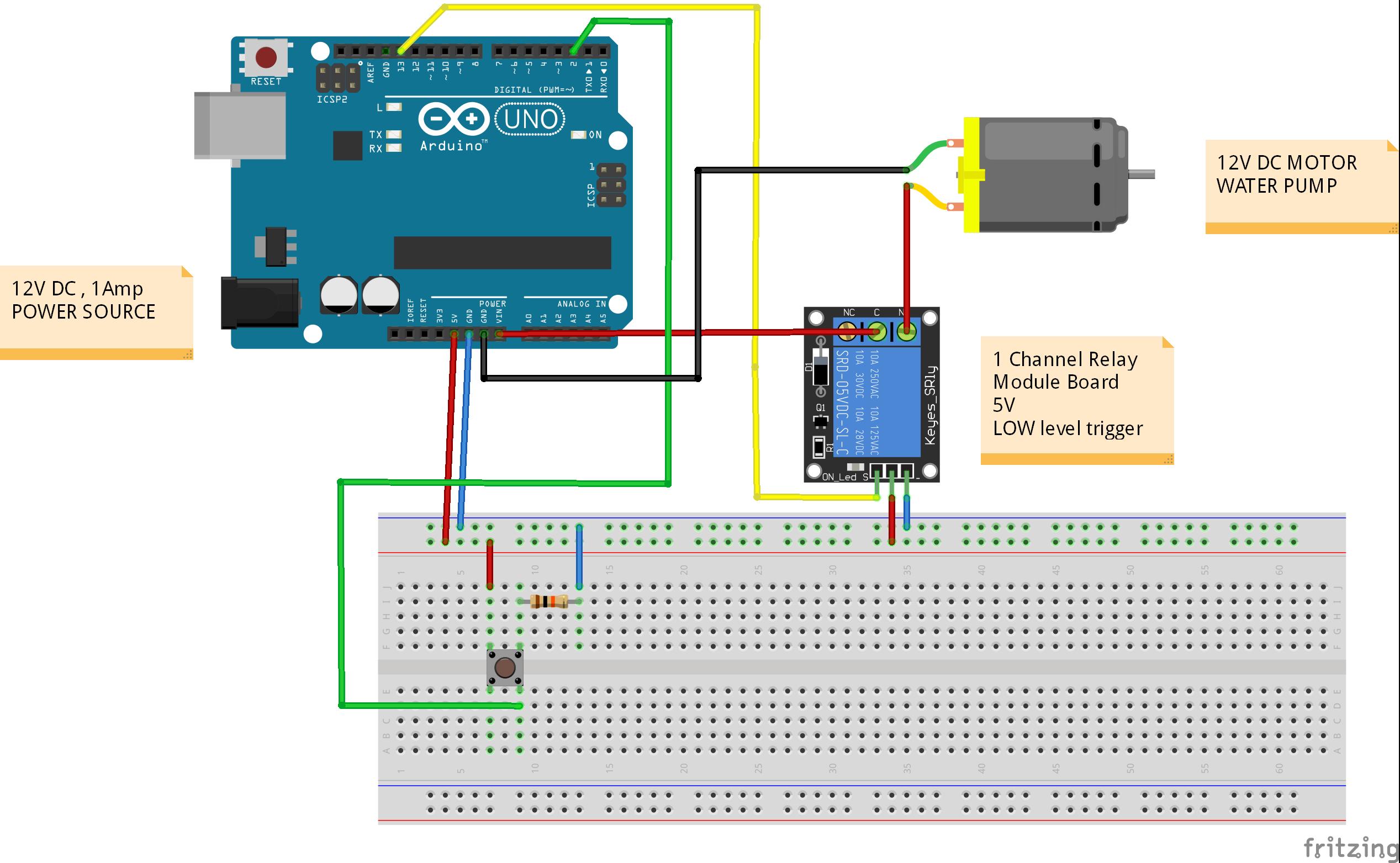 Watering/irrigation arduino system