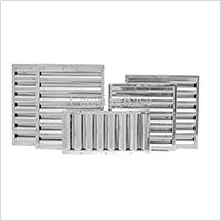 ACME Baffle Filter, Stainless Steel Baffle Filter,Canopy Grease Filter, Commercial Grade Filter