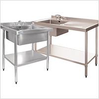 Vogue Stainless Steel Commercial Sink