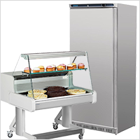 Refrigeration Units/Displays, Fridges, Freezers, Chilled Counter Units, Commercial Grade