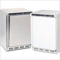 Under counter freezers