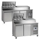 Tefcold Gastro-Line SS Range Gastronorm Preparation Counter
