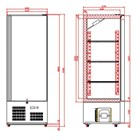 Tefcold RK500 Solid door Refrigerator