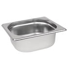 Stainless Steel 1/6 Gastronorm Pan 65mm