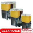 Promek VL Range Juice Dispensers