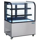 Polar CG841 Deli Display with Curved Glass 270Ltr