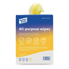 Jantex All-Purpose Antibacterial Cleaning Cloths Yellow (200 Pack)