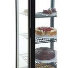 Polar DP289 Chilled Display with Curved Glass Door 235 Litre