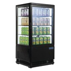 Polar G211 Chilled Display Cabinet Black 68 Ltr