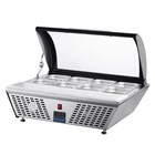 Polar GL178 Refrigerated Countertop Servery with Chopping board