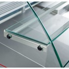 Tobi 140 Meat Curved Glass Serve Over Counter