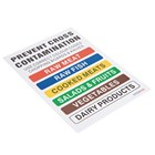 Hygiplas J249 Colour Coded Wall Chart
