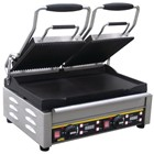 Buffalo L554 Double Contact Grill Ribbed Top