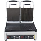 Buffalo L555 Double Contact Grill Half Flat