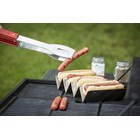 Tablecraft BBQ48 Taco/Hot Dog Prep Tray, 3 or 4 Compartment  28x10x5cm