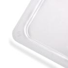 Vogue U246 Polycarbonate 1/3 Gastronorm Lid Clear