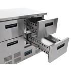 Polar U638 4 Drawer Compact Counter Fridge 240 Ltr