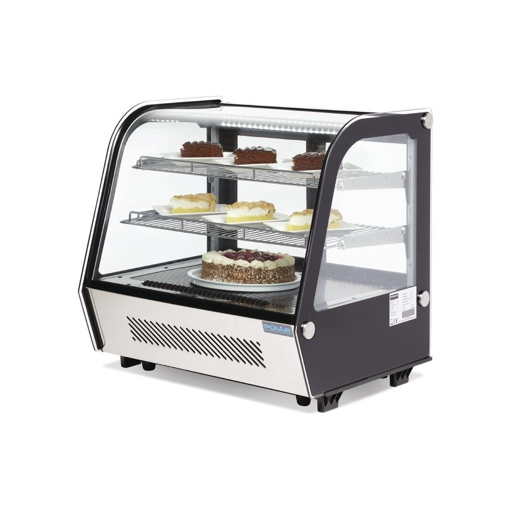 Polar CD229 Refrigerated Countertop Display Chiller 120 Litre