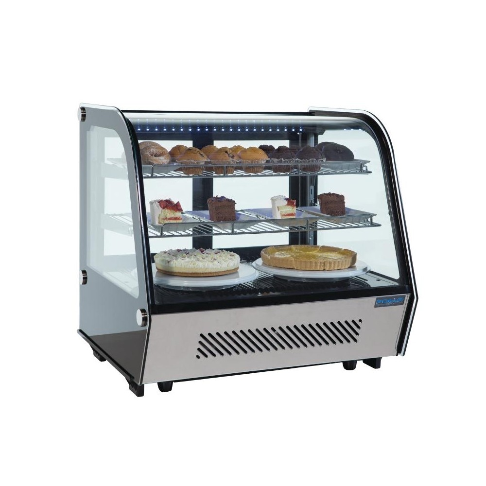 Polar CD230 Refrigerated Counter Display Chiller 160 Litre