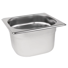 Stainless Steel 1/6 Gastronorm Pan 100mm | 1/6 gastronorm container 100mm