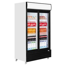 Interlevin CR1130S Glass Door Merchandiser
