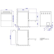 Fagor Concept Range Dishwashers