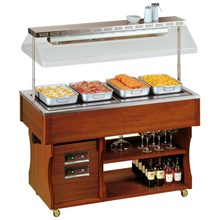 Tecfrigo Isola Hot Range Buffet Display