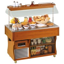 Tecfrigo Isola Range Buffet Display