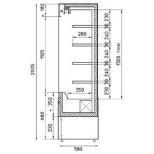 Framec Small X Range Stainless Slimline Multideck