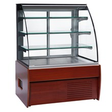 Trimco Zurich II Wood Choc Range Chocolate Display Cabinet