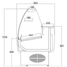 Frilixa Prima Range Slimline Serve Over Counter