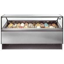 ISA Millennium STD Range Ventilated Scoop Ice Cream Display