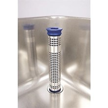 Commercial Kitchen Catering Sink Plug upstand strainer waste grease tube