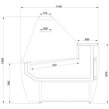 Frilixa Maxime Flat Range Serve Over Counter