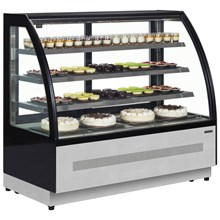 Interlevin LPD Curved Range Chilled Display Cabinet