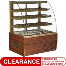 Trimco Zurich Wood Choc Range Chocolate Display Cabinet