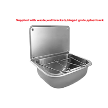 Wall mounted Stainless Steel Mop Bucket