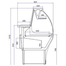 Trimco Flash Range Slimline Serve Over Counter