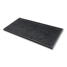 Beaumont 3629 Black Rubber Bar Mat 15x30cm