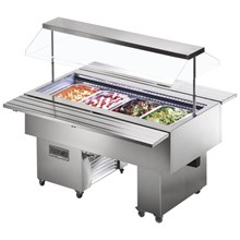 Tecfrigo Isola VT Cold Range Buffet Display