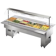 Tecfrigo Isola VT Hot Range Buffet Display