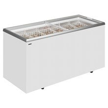 Derby EK ST Range Sliding Flat Glass Lid Chest Freezer