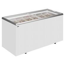 Derby EK ST Range Sliding Flat Glass Lid Chest Freezer