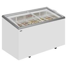 Derby EK C Range Sliding Curved Glass Lid Chest Freezer
